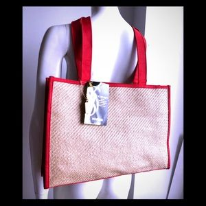 YSL Straw Gift Bag